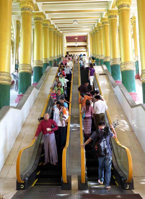 Chùa Vàng Shwedagon ở Yangoon -16