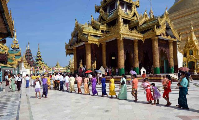 Chùa Vàng Shwedagon ở Yangoon -20
