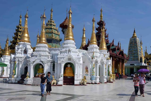 Chùa Vàng Shwedagon ở Yangoon -22