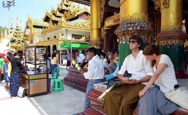 Chùa Vàng Shwedagon ở Yangoon -25