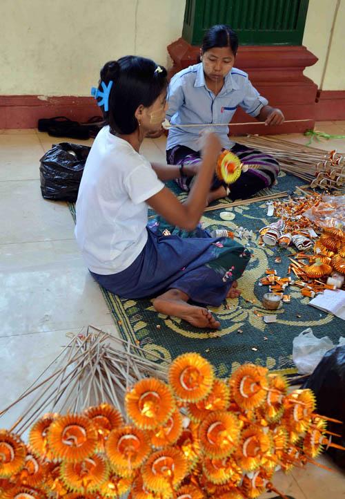 Chùa Vàng Shwedagon ở Yangoon -26