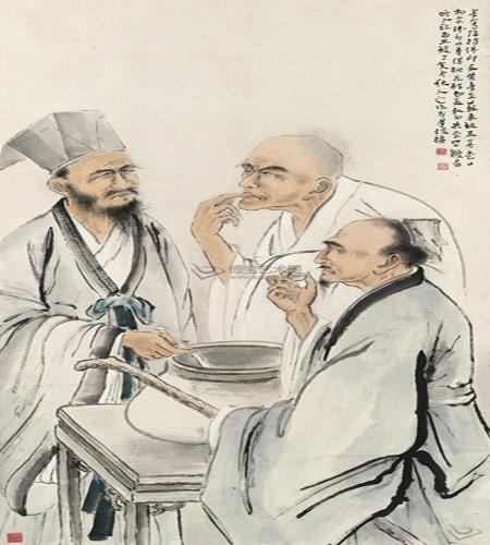 Tô Đông Pha, Phật Ấn và Hoàng Đình Kiên