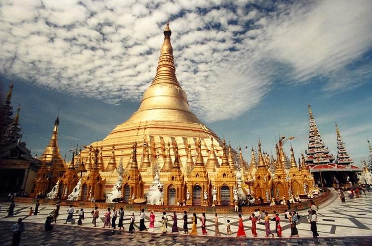 Chùa Vàng Shwedagon ở Yangoon -13