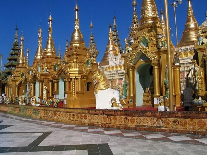 Chùa Vàng Shwedagon ở Yangoon -08