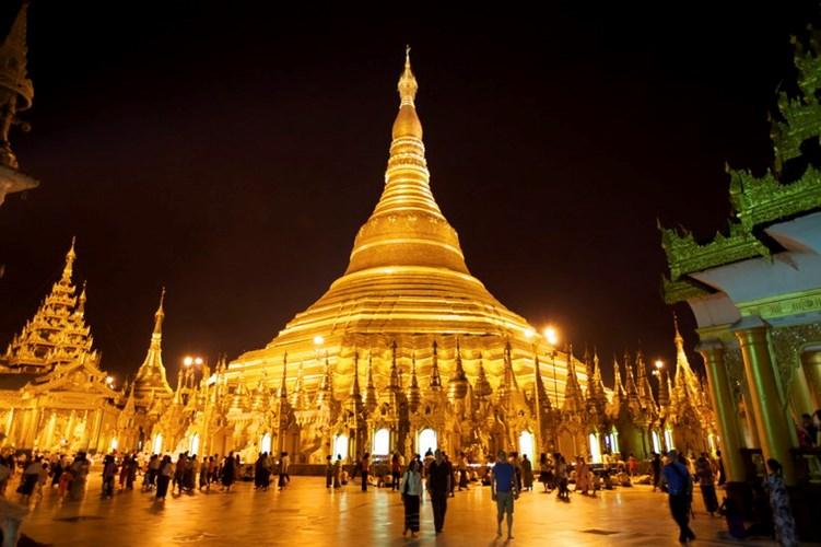 Chùa Vàng Shwedagon ở Yangoon -03